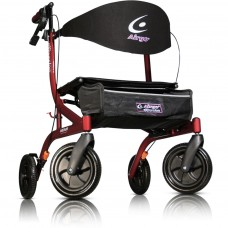 Airgo® eXcursion Rollator X18, Small Height - Cranberry