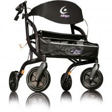 Airgo® eXcursion Rollator XWD - Black Pearl