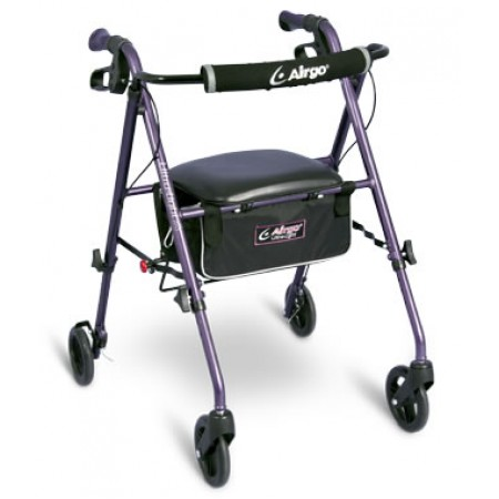 Airgo® Ultra-Light Rollator- Eggplant