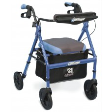 Airgo® Comfort-Plus™ XWD Rollator (Bariatric) - Iridescent Blue