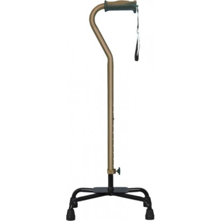 Hugo® Large Base Quad Cane - Cocoa