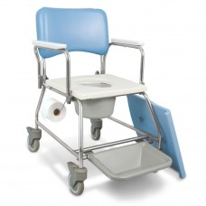 MedPro® AquaCare Shower Commode with Swivel armrests