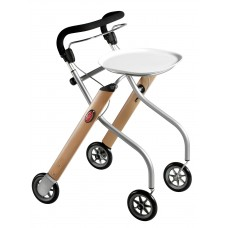 TrustCare® Let'sGo Indoor Walker - Beech (With Tray & Bag)