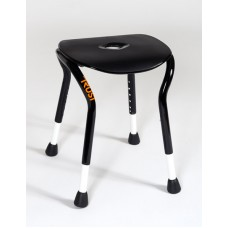 TrustCare® Let's Shower - Black (Shower Stool)