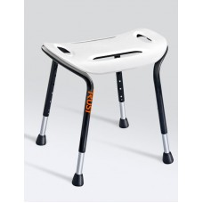 TrustCare® Let's Sing - White (Shower Stool Wide)